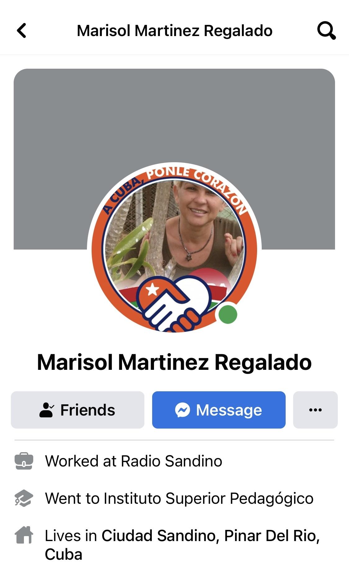 Marisol Martinez regalado