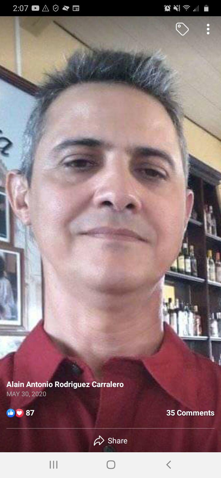 Alain Antonio Rodriguez Carralero