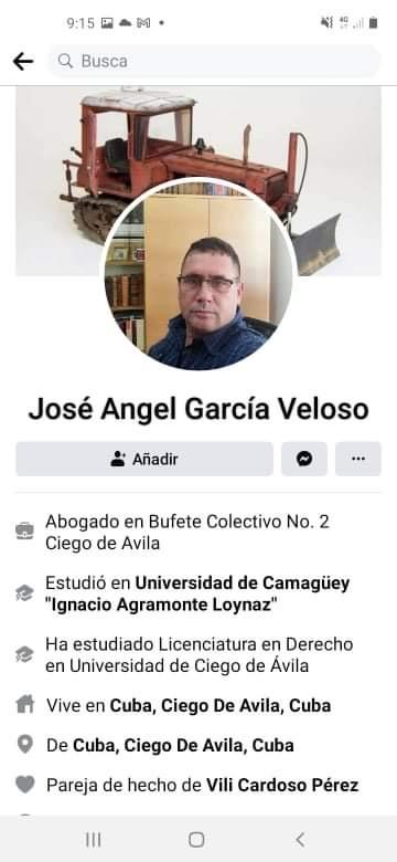 José Ángel García Velozo