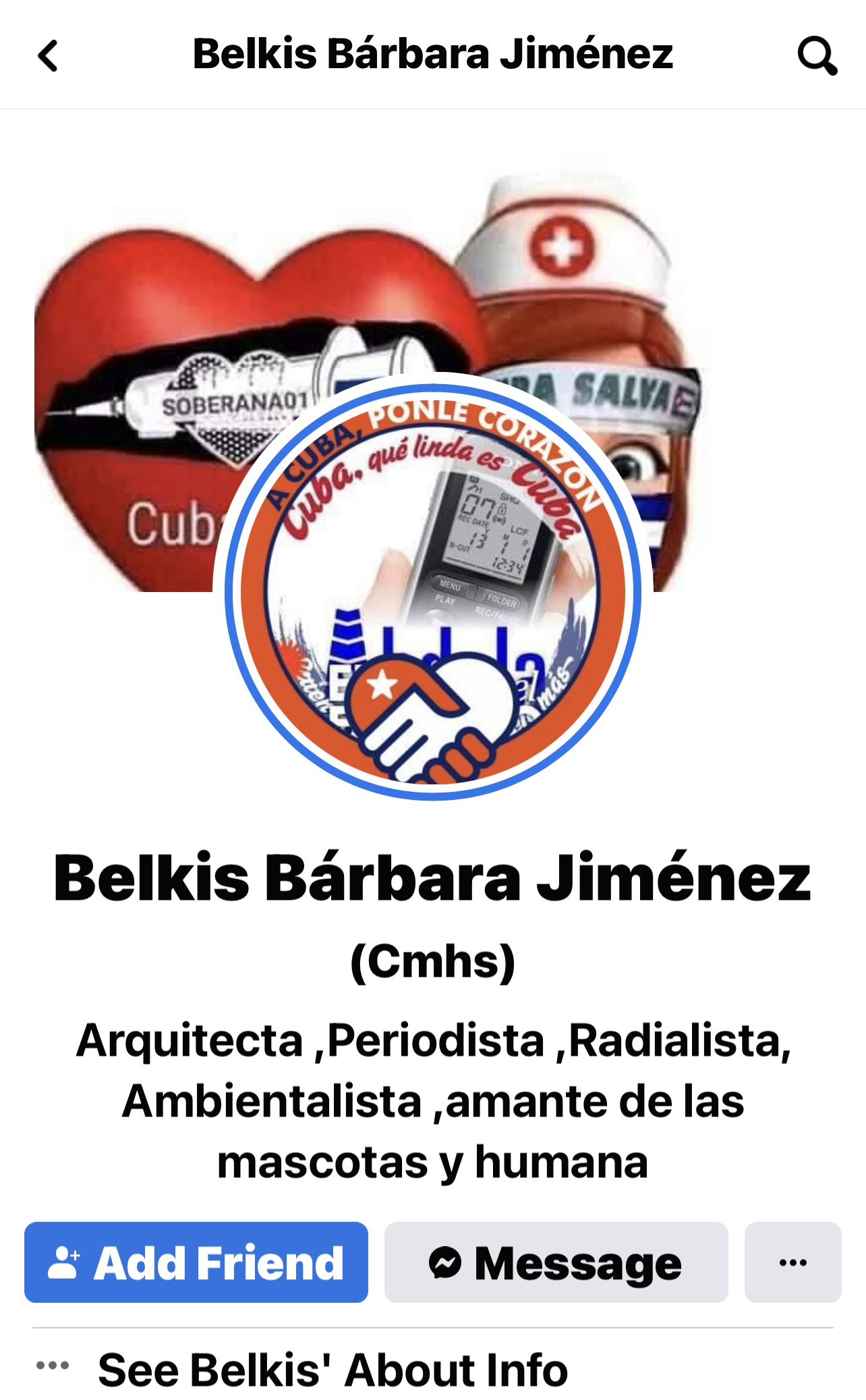 Belkis Barbara Jiménez Cruz