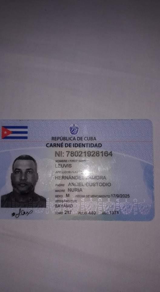 Leuvis Hernandez Zamora