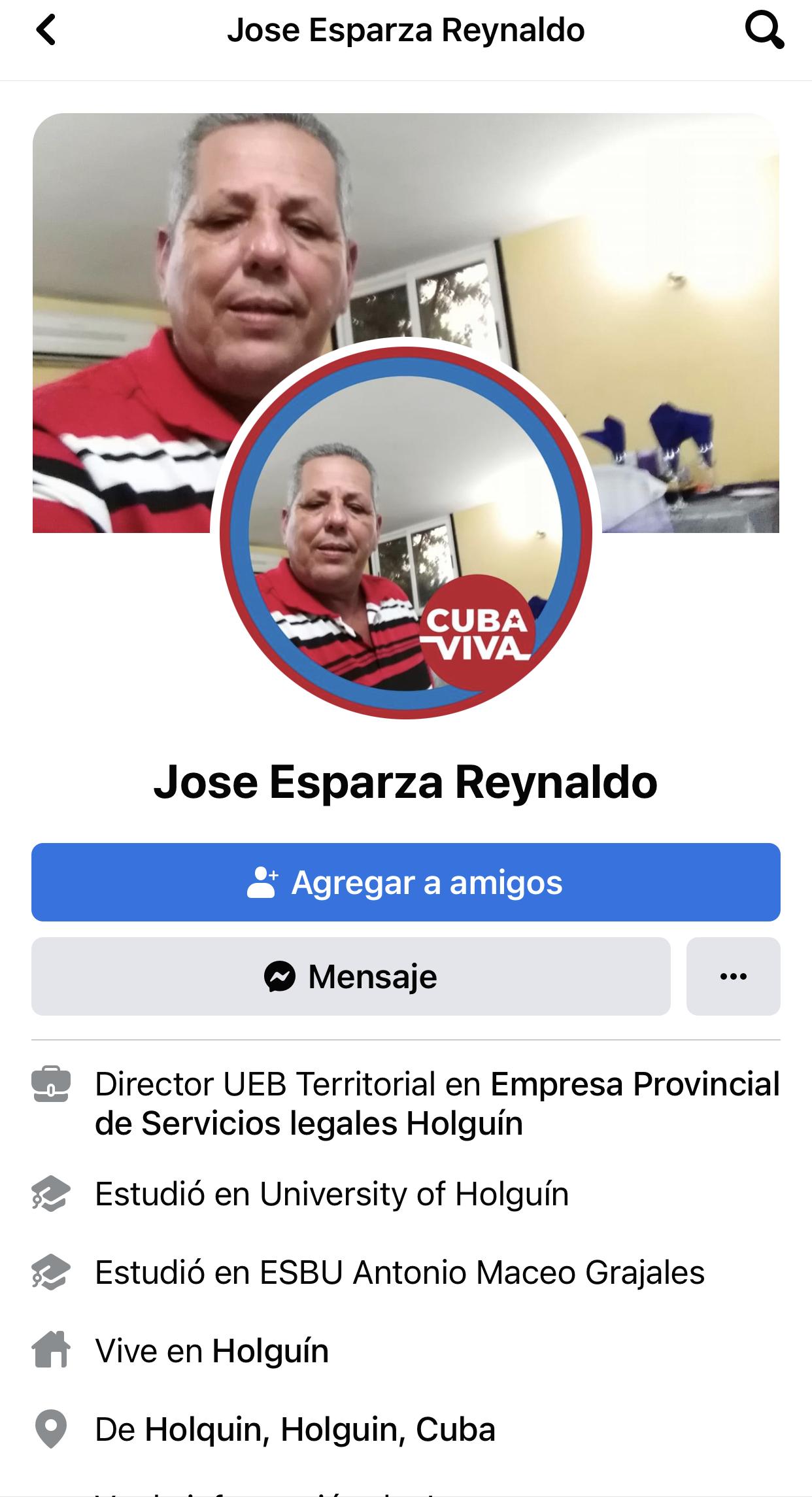 José esparza reynaldo