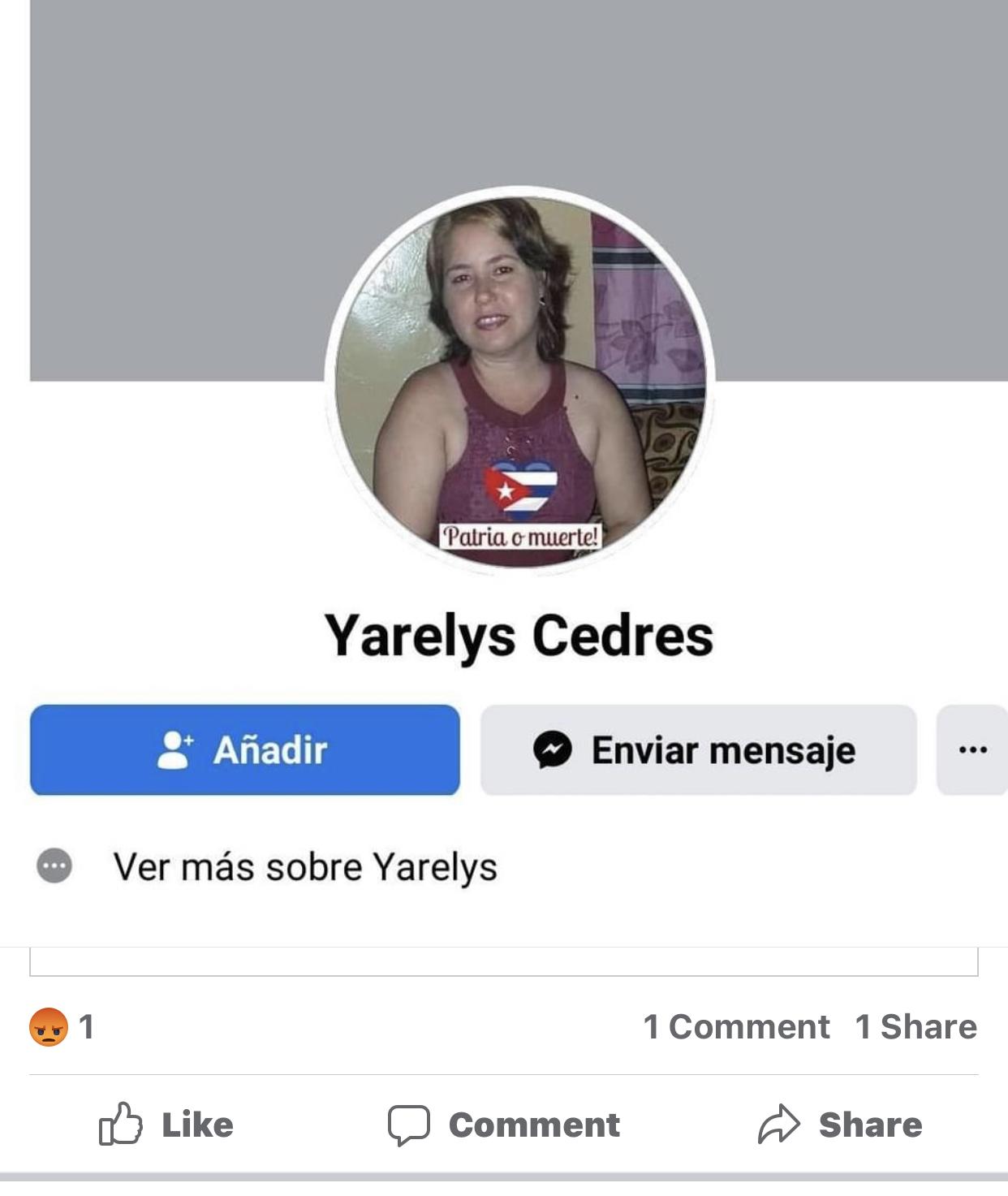 Yarelys Cedres