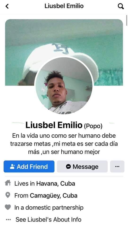Liusbel Emilio (Alias Popo)