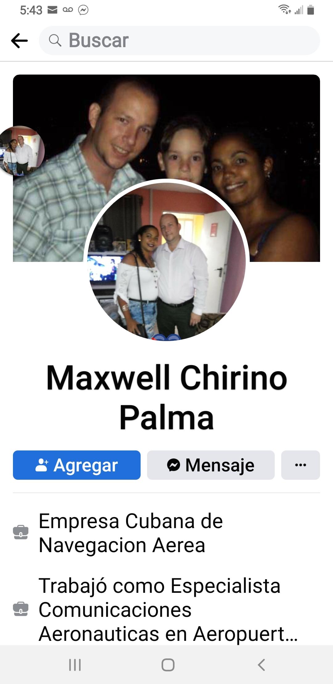 Maxwell chirino palma