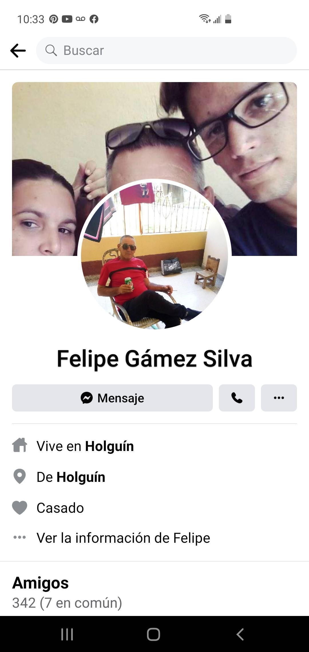 Felipe Gamez silva