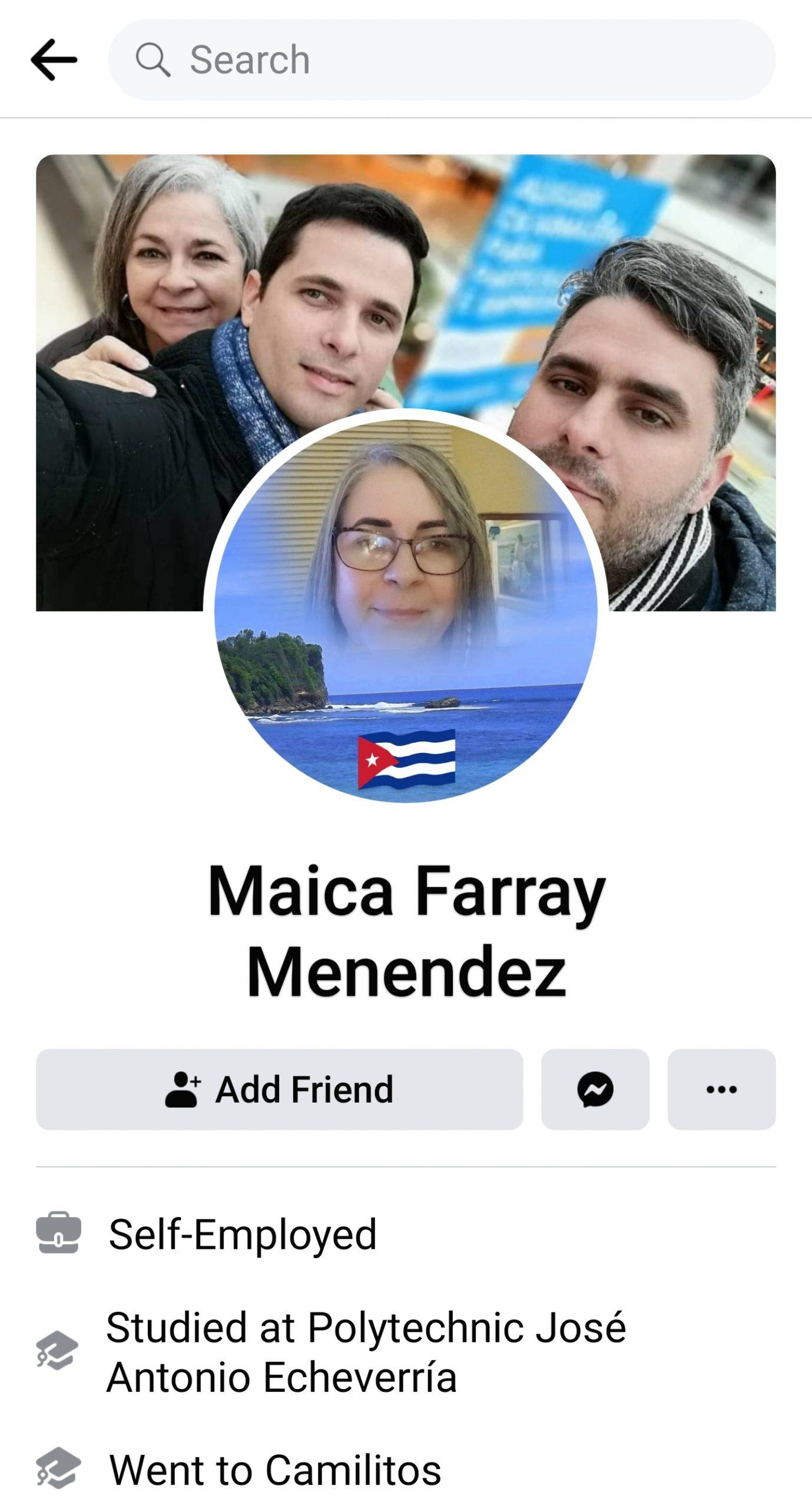 Maica Farray Menendez