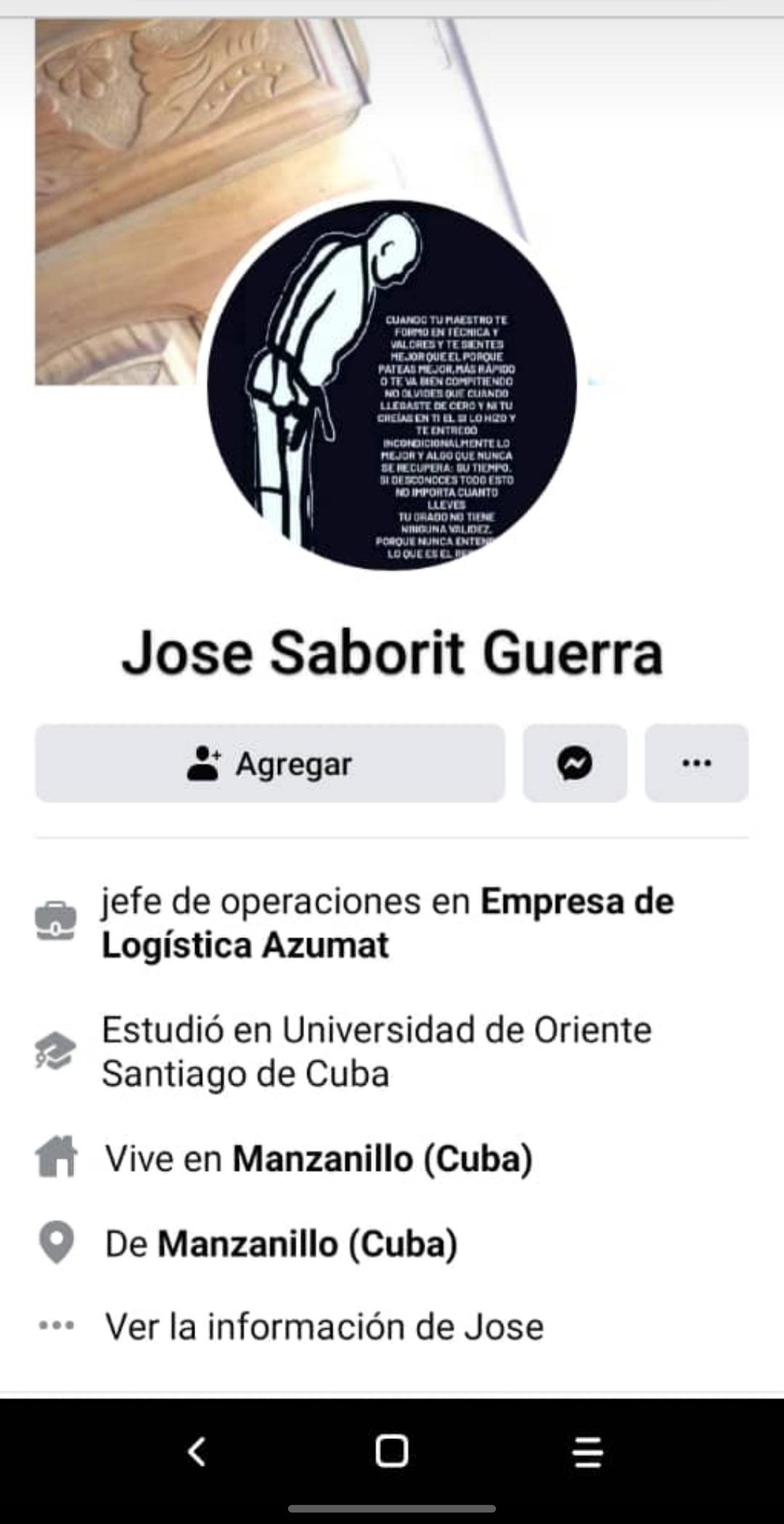 Jose saborit guerra
