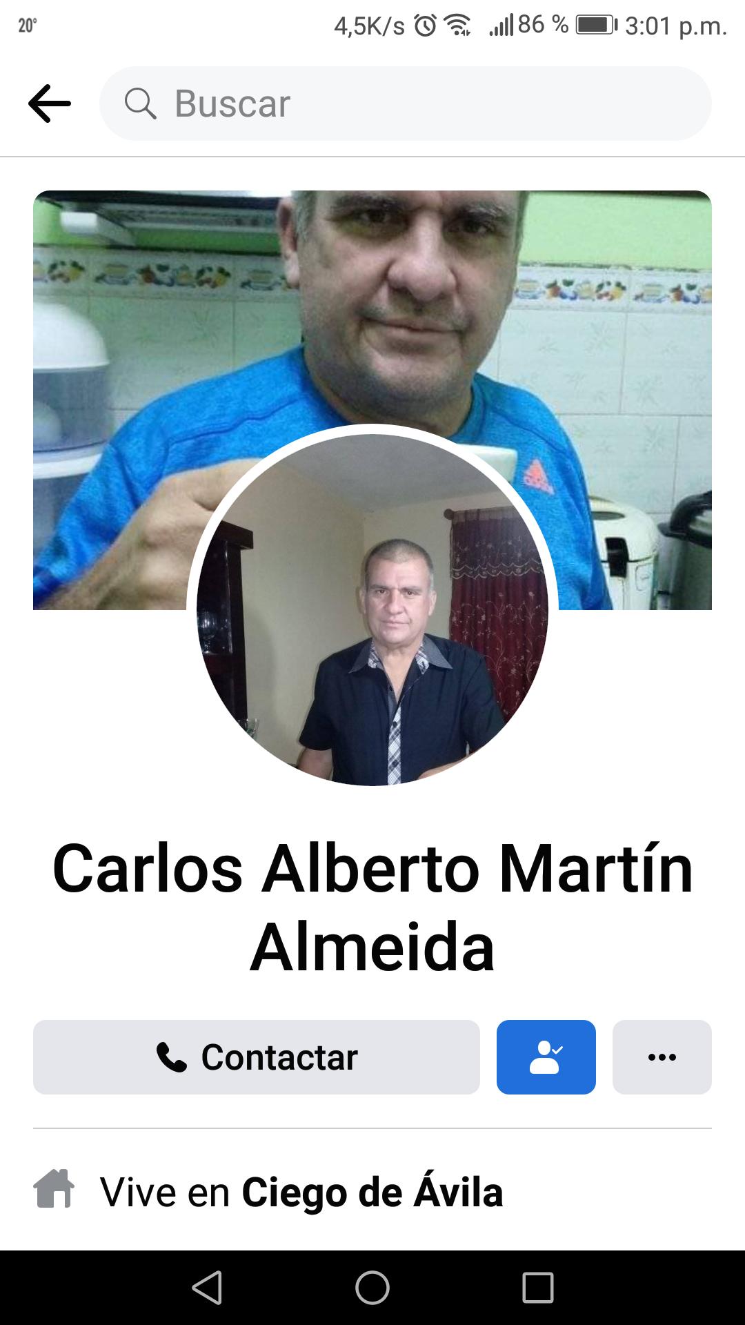 Carlos Alberto Martin Almeida
