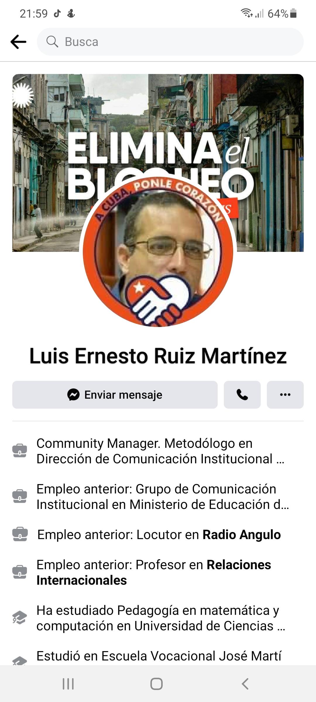 Luis Ernesto Ruiz Martinez