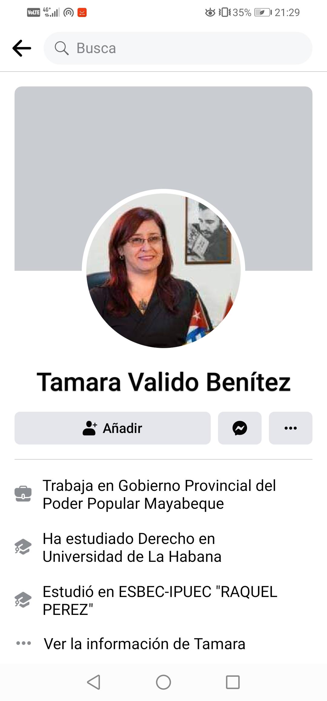 Tamara Valido Benítez