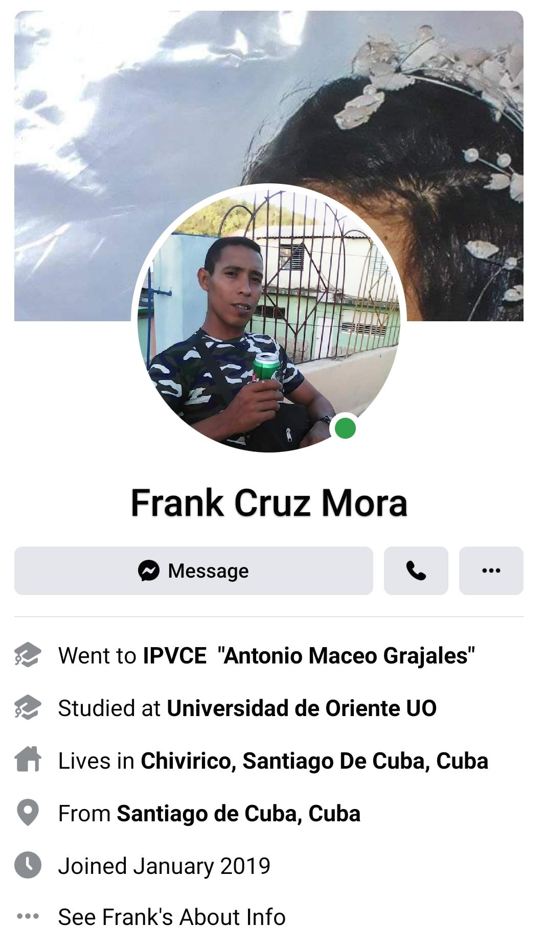 Frank Cruz Mora