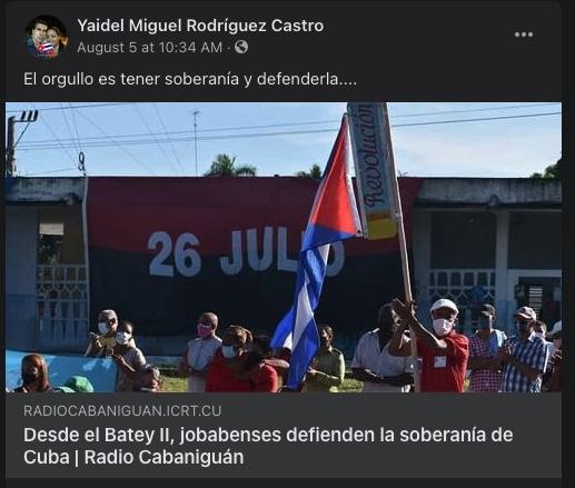 Yaidel Miguel Rodriguez Castro