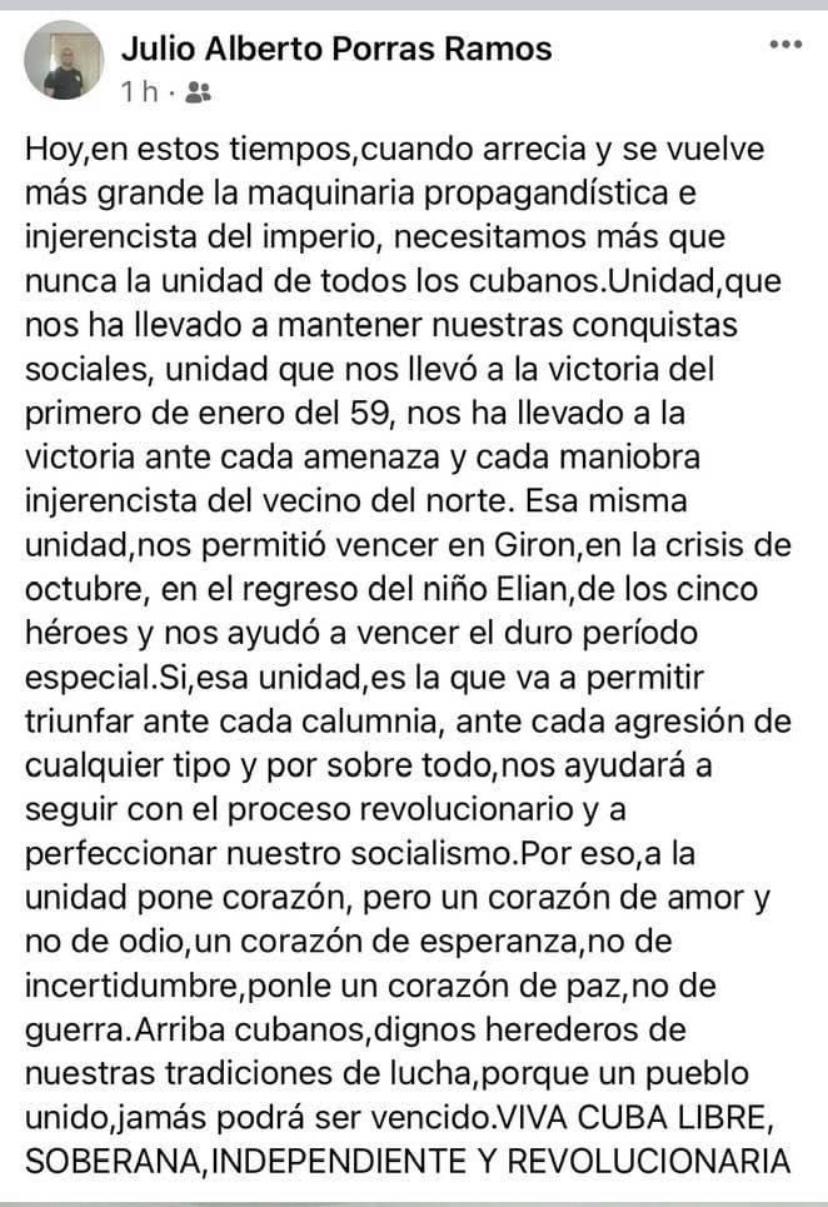 Julio Alberto Porras Ramos