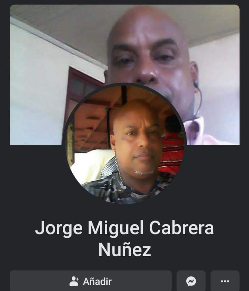 Jorge miguel cabrera Nuñez