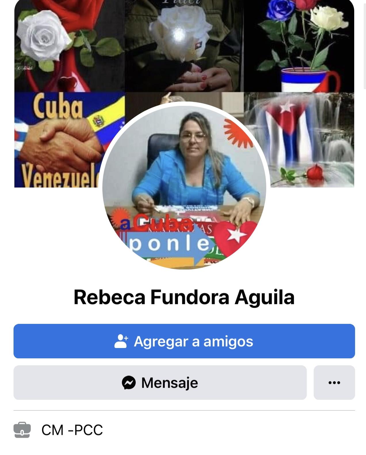 Rebeca Fundora Aguila