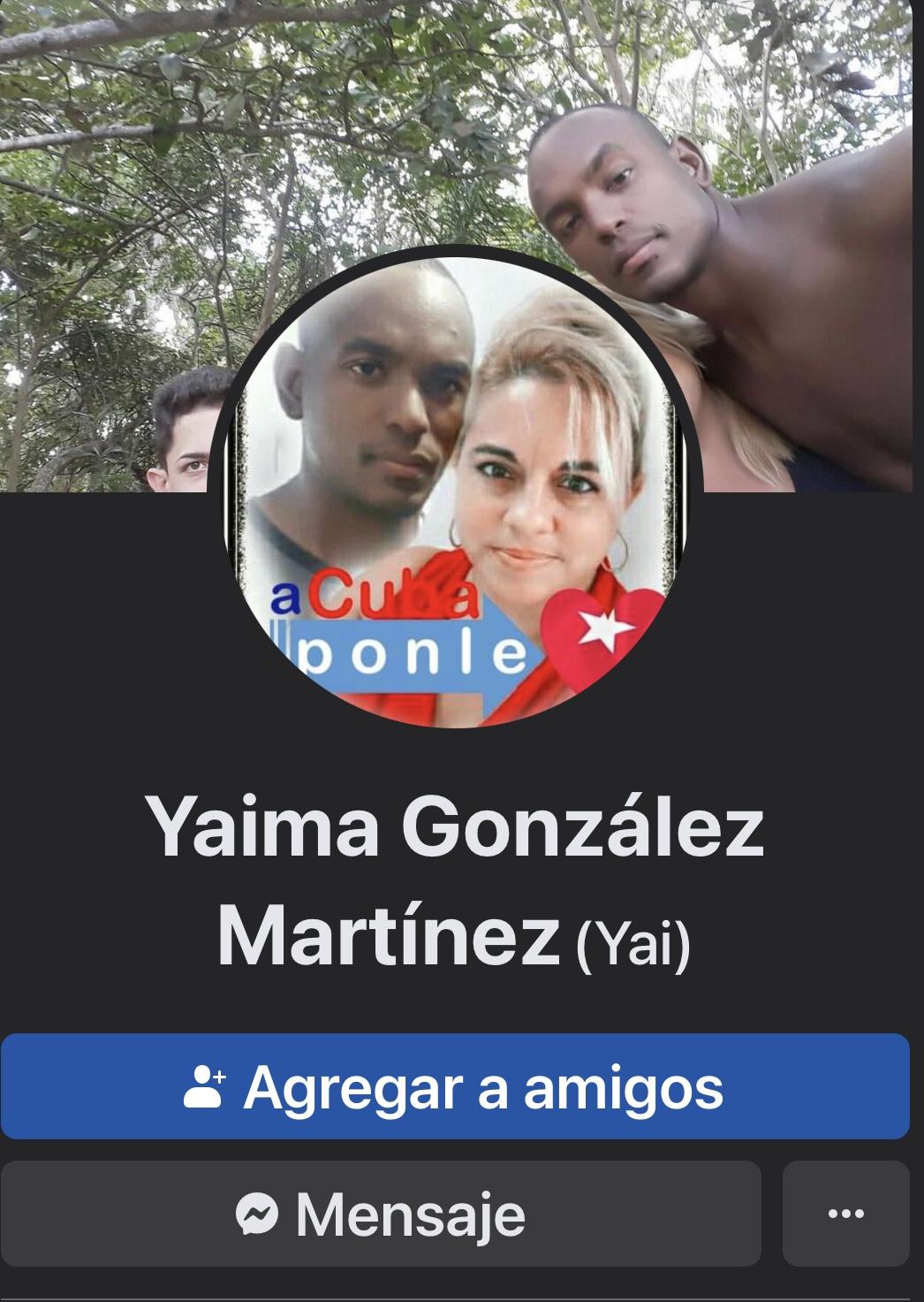 Yaima Gonzalez Martinez