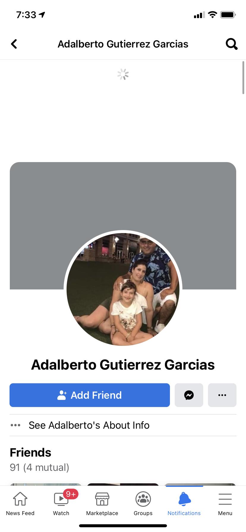 Adalberto Gutiérrez garcia