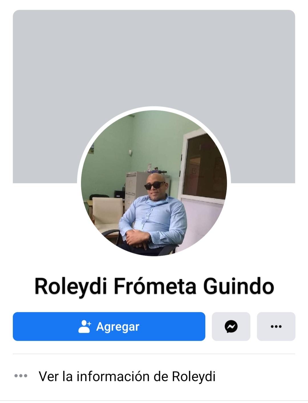 Roleydi Frómeta Guindo