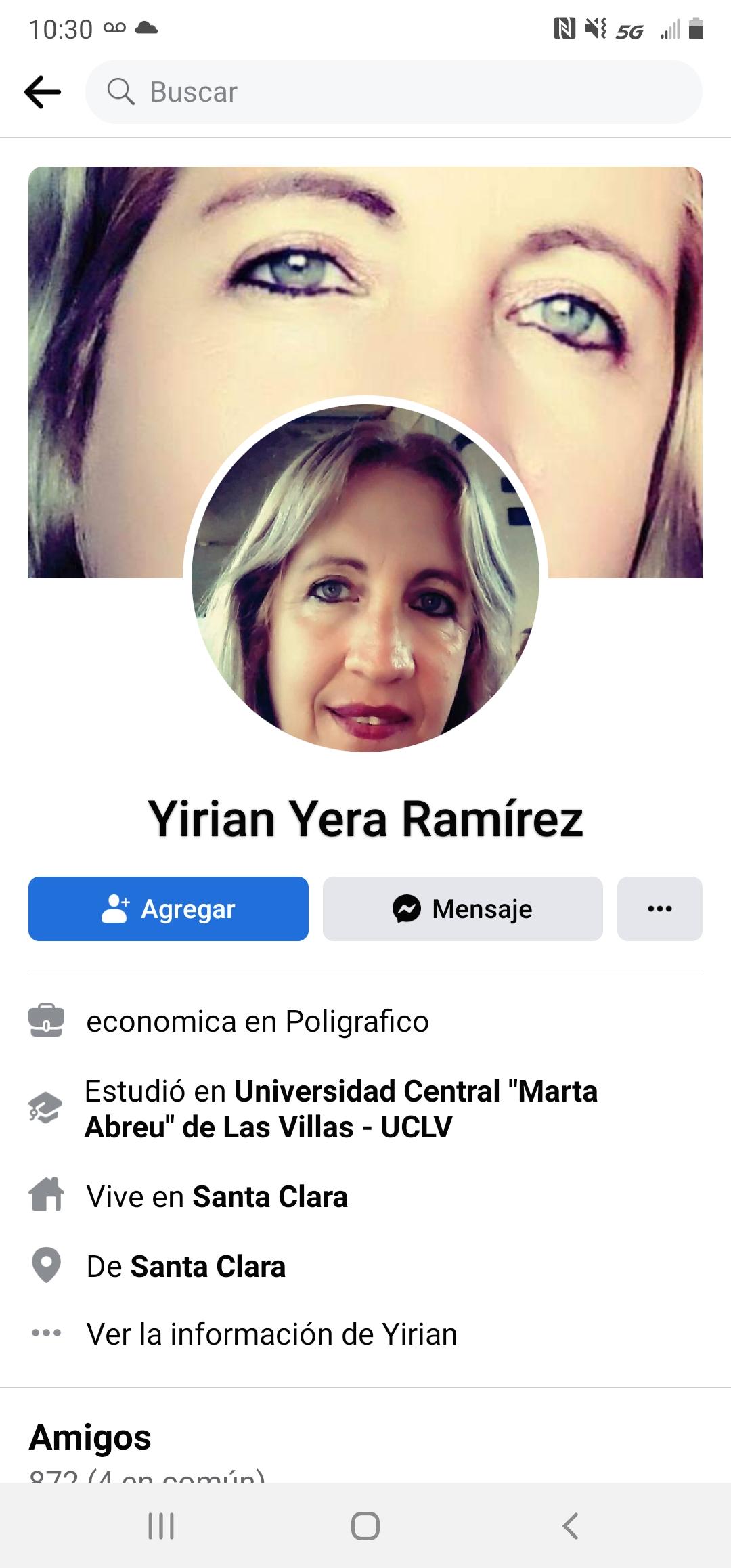 Yirian Yera Ramirez