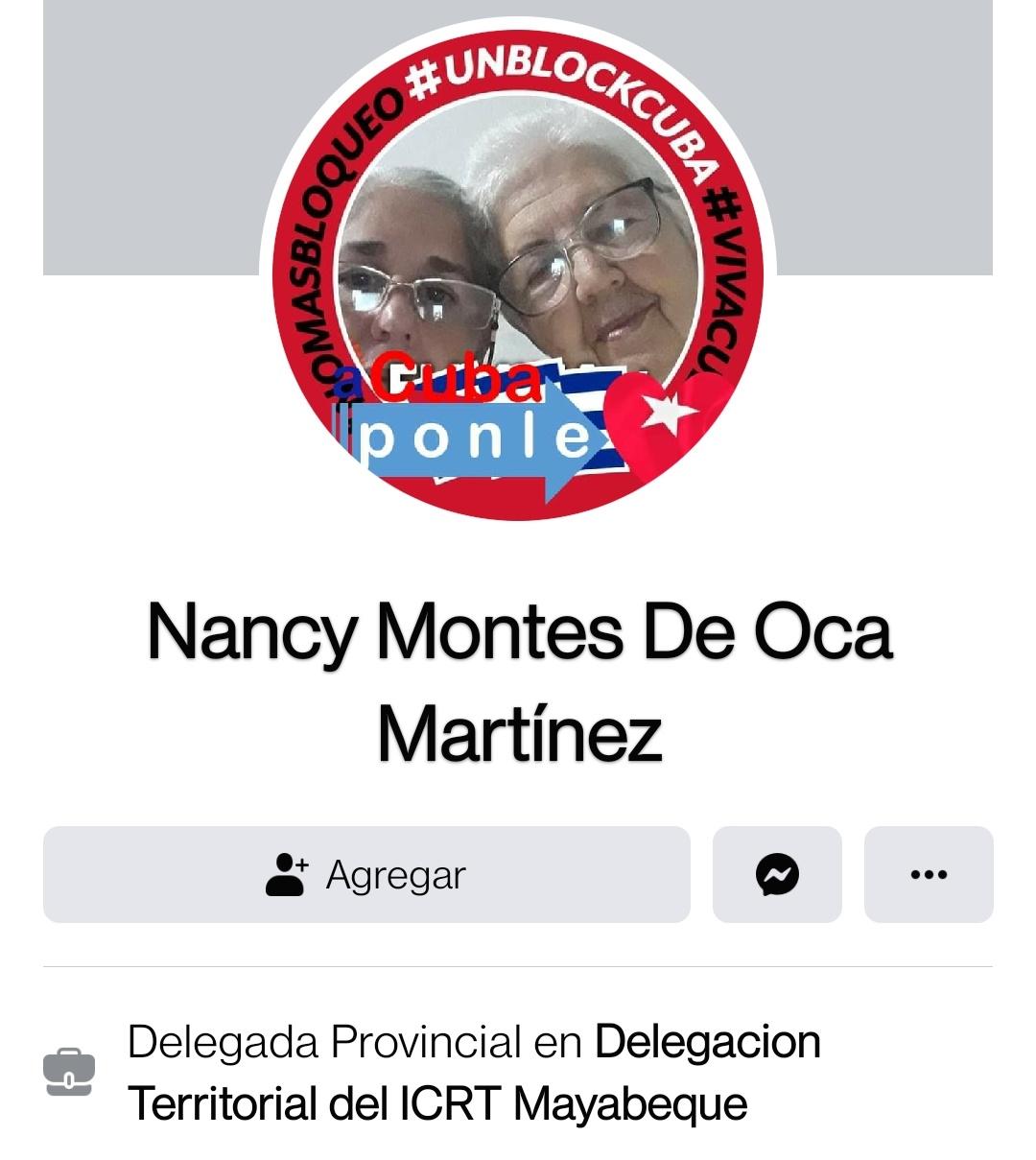 Nancy Montes de Oca Martinez