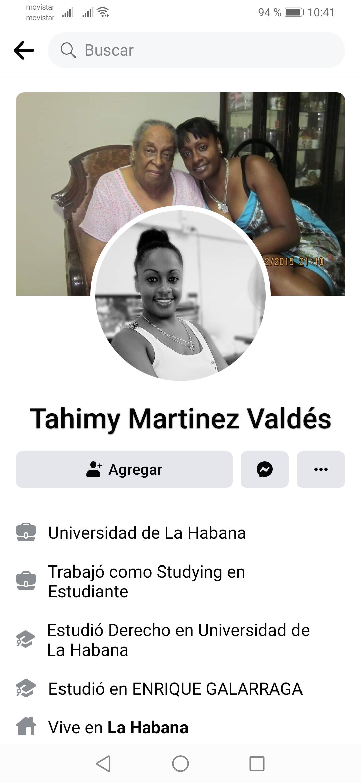 Tahymi Martínez valdez