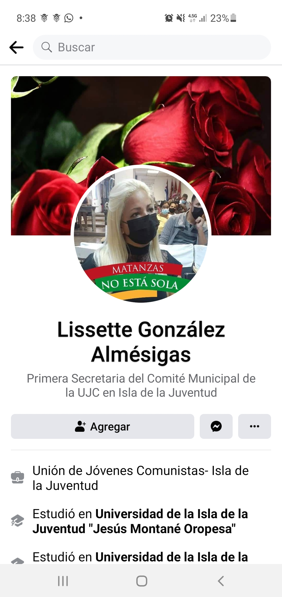 Lissette Gonzáles Almésigas