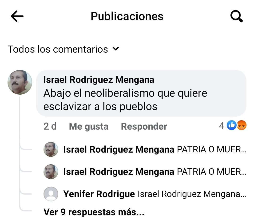 Israel Rodriguez Mengana