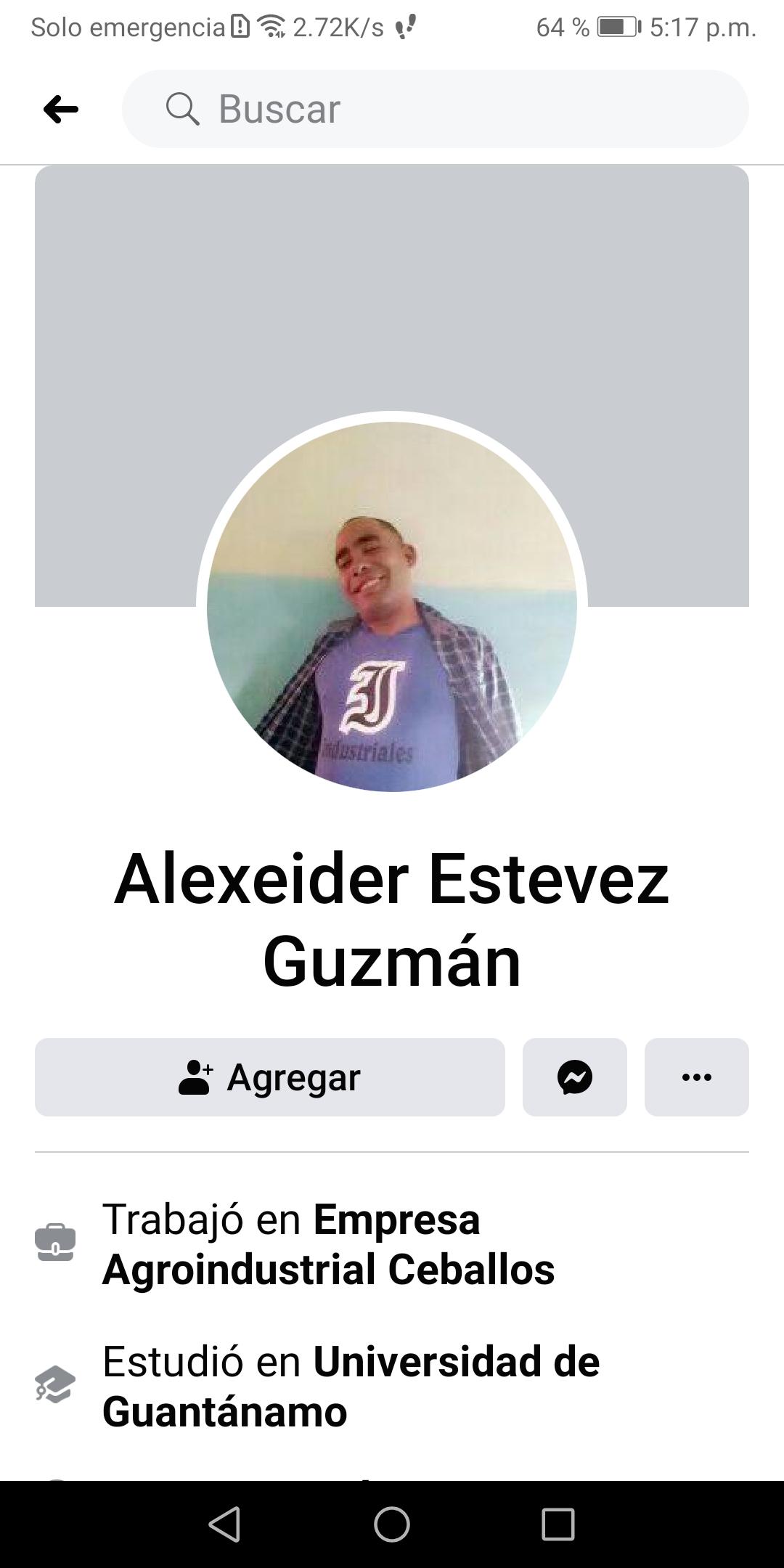 Alexeider Estévez Guzmán