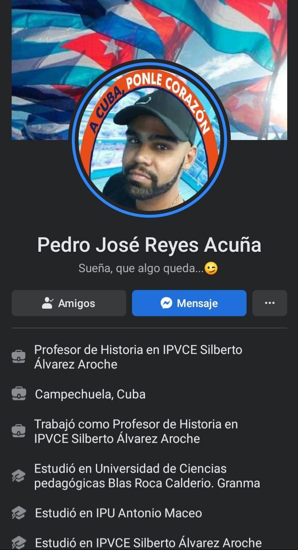 Pedro José Reyes Acuña
